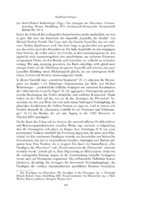 Dokument Jan Mohr/Michael Waltenberger (Hgg.): Das Syntagma des Pikaresken, Universitätsverlag Winter, Heidelberg 2014 (Germanisch-Romanische Monatsschrift Beiheft 58), 347 S.