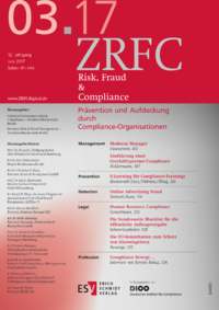 Dokument Risk, Fraud & Compliance Ausgabe 03 2017