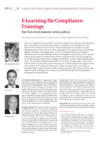 Dokument E-Learning für Compliance-Trainings