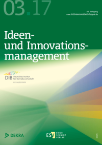 Dokument Ideenmanagement Ausgabe 03 2017