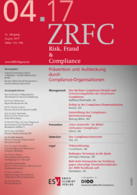 Dokument Risk, Fraud & Compliance Ausgabe 04 2017