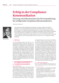 Dokument Erfolg in der Compliance-Kommunikation