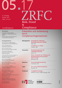 Dokument Risk, Fraud & Compliance Ausgabe 05 2017