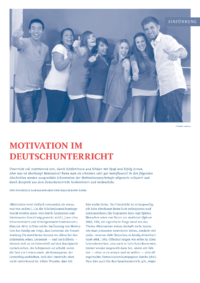 Dokument Motivation im Deutschunterricht