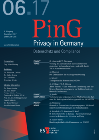 Dokument PinG Privacy in Germany Ausgabe 06 2017
