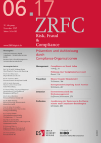 Dokument Risk, Fraud & Compliance Ausgabe 06 2017