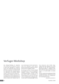 Dokument Verfuger-Workshop