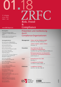 Dokument Risk, Fraud & Compliance Ausgabe 01 2018