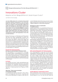 Dokument Innovations-Cluster