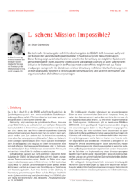 Dokument Löschen: Mission Impossible?