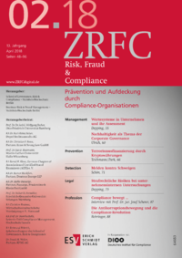 Dokument Risk, Fraud & Compliance Ausgabe 02 2018