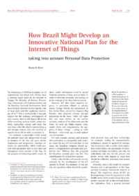 Dokument How Brazil Might Develop an Innovative National Plan for the Internet of Things