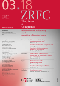 Dokument Risk, Fraud & Compliance Ausgabe 03 2018