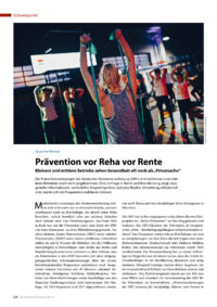 Dokument Prävention vor Reha vor Rente