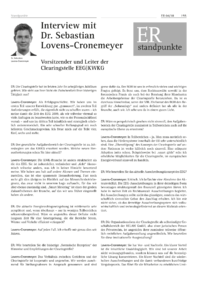Dokument Interview mit Dr. Sebastian Lovens-Cronemeyer