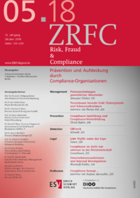 Dokument Risk, Fraud & Compliance Ausgabe 05 2018