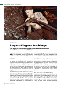 Dokument Bergbau: Diagnose Staublunge