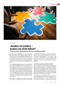 "Dokument ""Anders ist anders – anders ist nicht falsch"""