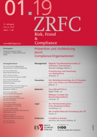 Dokument Risk, Fraud & Compliance Ausgabe 01 2019