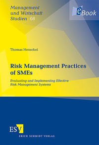 eBook Risk Management Practices of SMEs