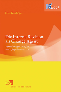 eBook Die Interne Revision als Change Agent