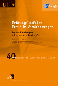eBook Prüfungsleitfaden Fraud in Versicherungen