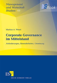 eBook Corporate Governance im Mittelstand