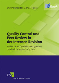 eBook Quality Control und Peer Review in der Internen Revision