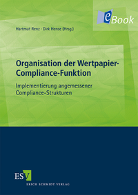 eBook Organisation der Wertpapier-Compliance-Funktion