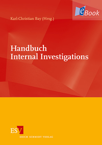 eBook Handbuch Internal Investigations