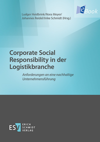 eBook Corporate Social Responsibility in der Logistikbranche