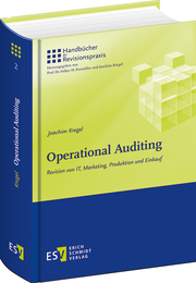 Operational Auditing – Revision von IT, Marketing, Produktion und Einkauf