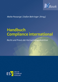 eBook Handbuch Compliance international