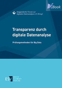 eBook Transparenz durch digitale Datenanalyse