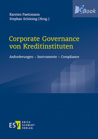 eBook Corporate Governance von Kreditinstituten