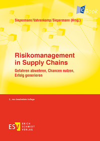 eBook Risikomanagement in Supply Chains