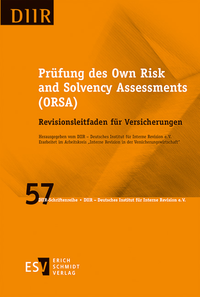eBook Prüfung des Own Risk and Solvency Assessments (ORSA)
