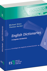 English Dictionaries – A Linguistic Introduction