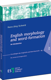 English morphology and word-formation – An introduction