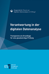 eBook Verantwortung in der digitalen Datenanalyse