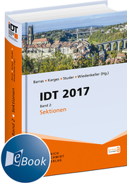 IDT 2017, Band 2