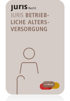 juris PartnerModul Betriebliche Altersversorgung