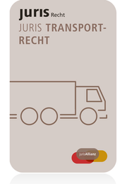 juris PartnerModul Transportrecht - Jahresabonnement