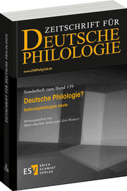 Deutsche Philologie? – Nationalphilologien heute